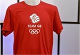 300026 -  Team GB Paralympics T-Shirt (RED)