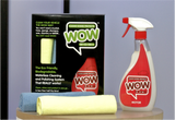 400001 - Wow Motor Includes: 500ml spray bottle & 2 Micro Fibre Cloths
