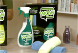 400002 - Wow Classic & Sport Includes:500 ml spray bottle & 2 Micro Fibre Cloths