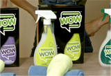 400005 - Wow House Proud - Includes 500 ml spray bottle & 2 Micro Fibre Cloths