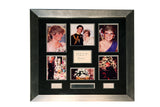 100217 - Princess Diana Framed and Mounted Photo Montage Display Presentation