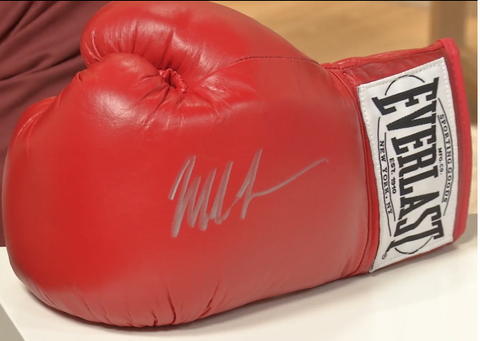 100097 - Mike Tyson Personally Signed Boxing Glove