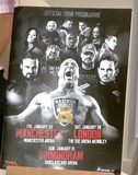 100170 - Maximum Impact 2016 Tour Programme Signed by Beer Money & The Wolves & Trevor Lee