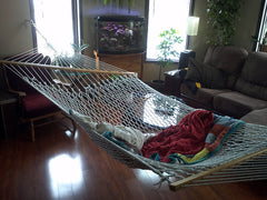 Cotton Rope Hammock - Double