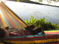 Mayan Hammock - XL Family-sized Thick Cord