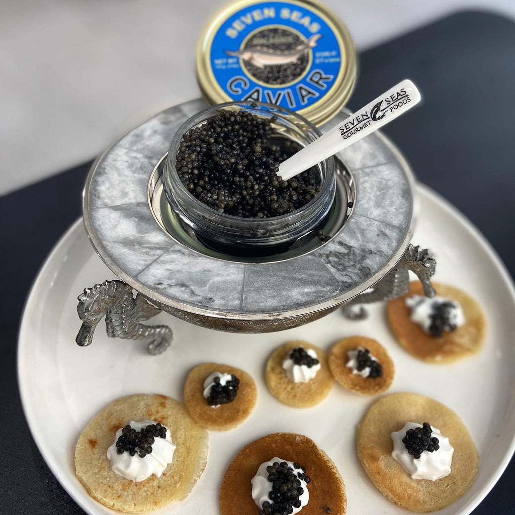 How to serve caviar right?