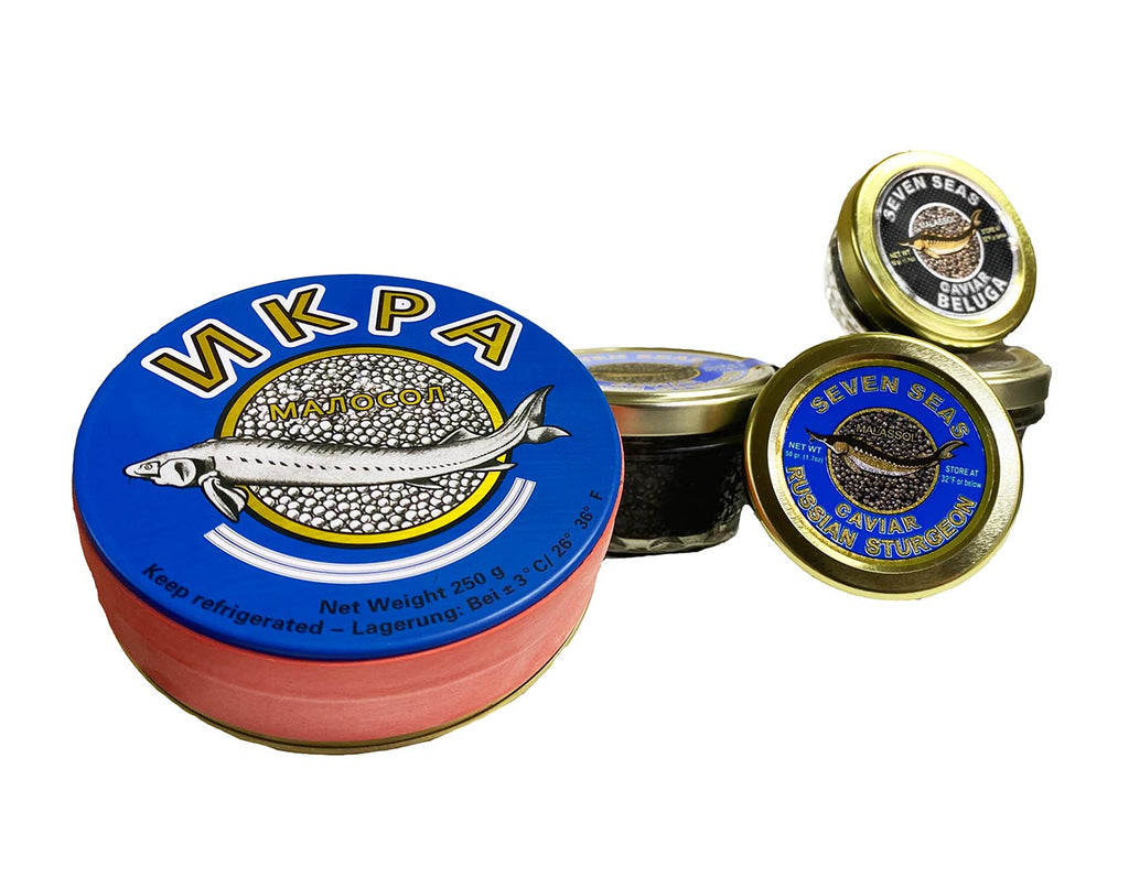 World standards of caviar