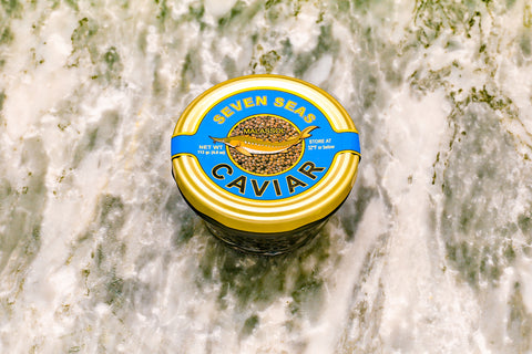 Russian Sturgeon Caviar 113 grams (4 oz) FREE SHIPPING