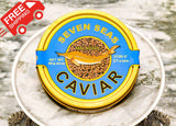 Russian Sturgeon Caviar 250 grams (8.8 oz) FREE SHIPPING