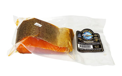 Canadian Steelhead (Salmon-Trout) Cold Smoked Chunk VP