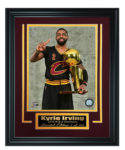 Cleveland Cavaliers- Kyrie Irving 8x10 Framed Photo - National Memorabilia