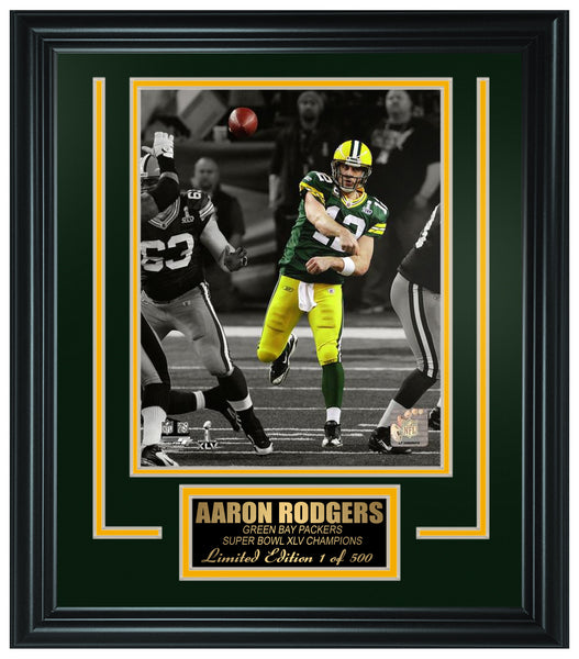 Green Bay Packers - Aaron Rodgers Framed Lt.Edition FTSNE243