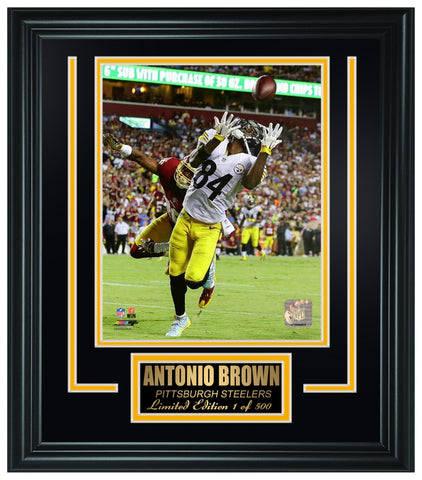 Pittsburgh Steelers -Antonio Brown Framed Lt.Edition FTSTI002