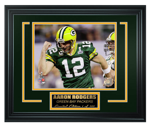 Green Bay Packers - Aaron Rodgers Framed Lt.Edition FTSNE250