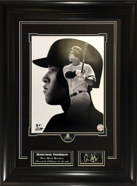 MLB- Aaron Judge Yankees Slugger B/W Collage