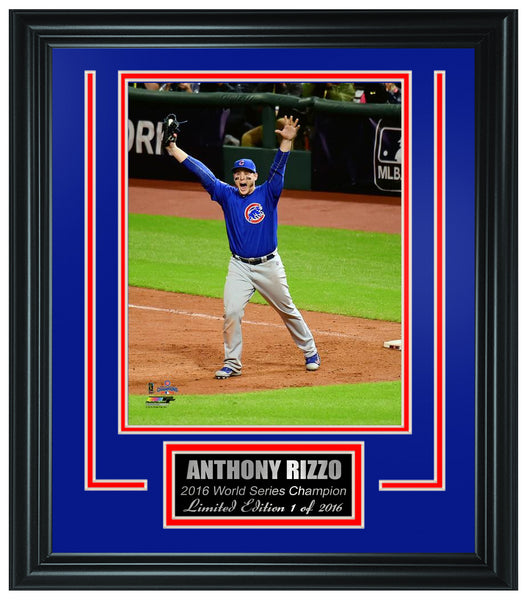 Chicago Cubs -Anthony Rizzo 2016 World Series Champion Framed Lt.Edition FTSTN068