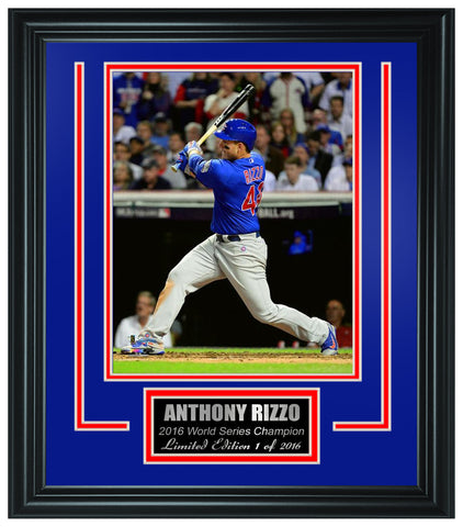 Chicago Cubs -2016 World Series Champions Framed Lt.Edition FTSTN057 - National Memorabilia