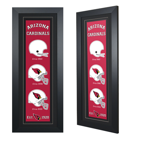 Arizona Cardinals - Framed Heritage Banner
