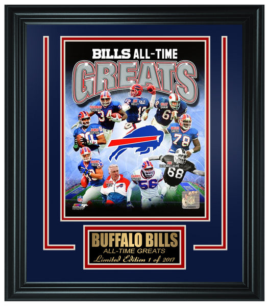 Buffalo Bills All-Time Greats Limited Edition Frame. FTSQA220