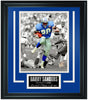 Detroit Lions Barry Sanders Limited Edition Frame. FTSLV211 - National Memorabilia