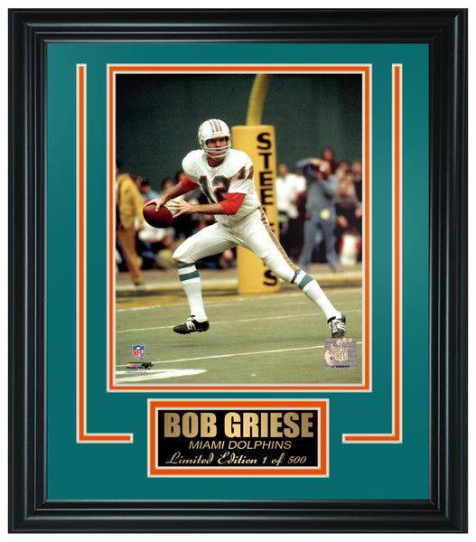 Miami Dolpins-Bob Griese Limited Edition Frame