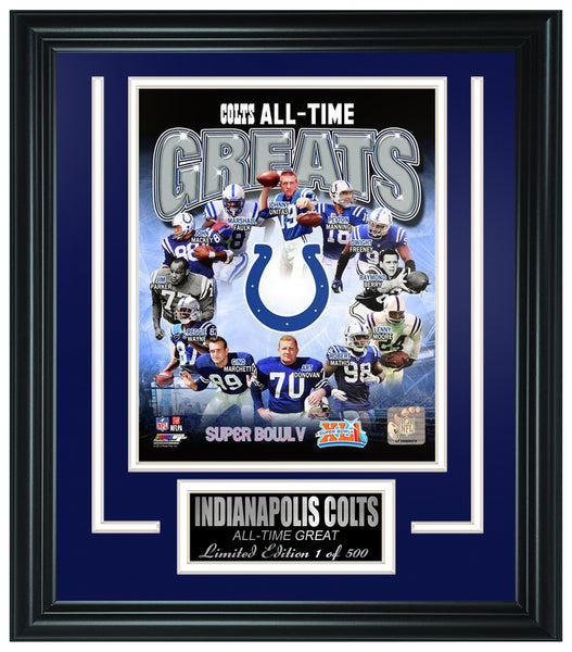 Indianapolis Colts- All-Time Greats Limited Edition Frame FTSPZ144