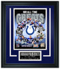 Indianapolis Colts- All-Time Greats Limited Edition Frame FTSPZ144 - National Memorabilia
