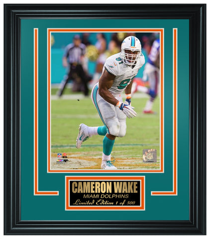 Miami Dolphins Cameron Wake Limited Edition Frame FTSSI044