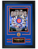 Chicago Cubs -All-Time Greats Limited Edition Collage - National Memorabilia