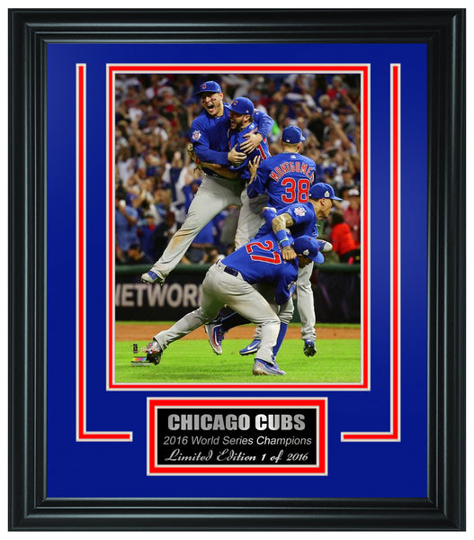 Chicago Cubs -2016 World Series Champions Framed Lt.Edition FTSTN076