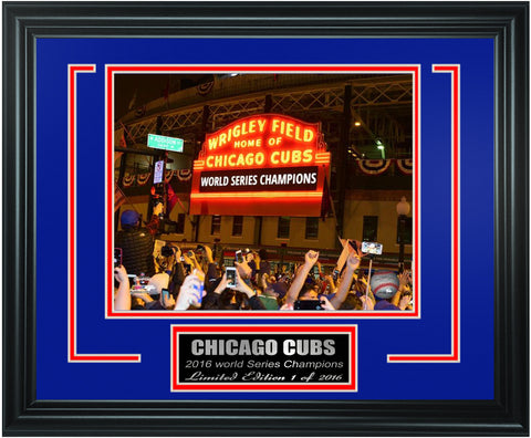 Chicago Cubs -2016 World Series Champions Framed Lt.Edition FTSTN075 - National Memorabilia
