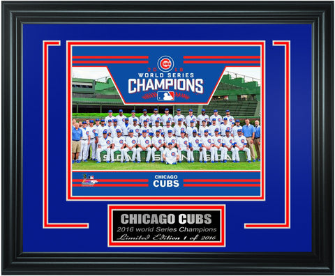 Chicago Cubs -2016 World Series Champions Framed Lt.Edition FTSTN024 - National Memorabilia