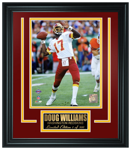 Washington Redskins- Doug Williams Limited Edition Frame FTSHV220