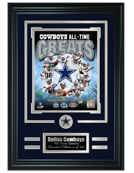 Dallas Cowboys - All-Time Greats Limited Edition Collage