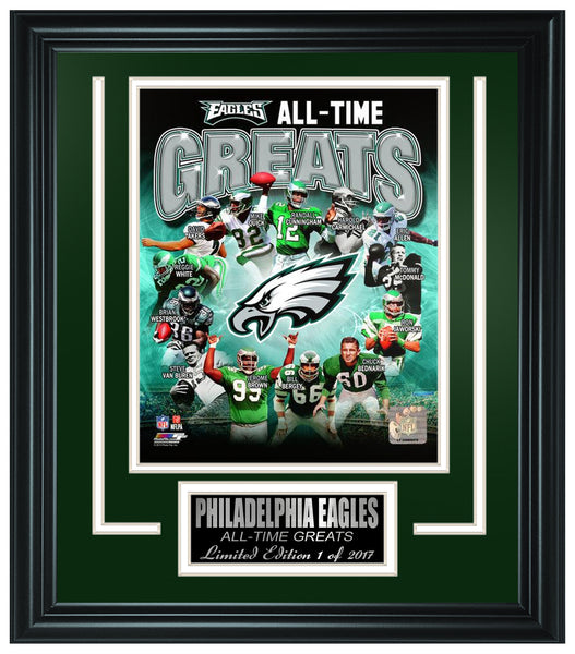 Philadelphia Eagles All-Time Greats Framed Photo