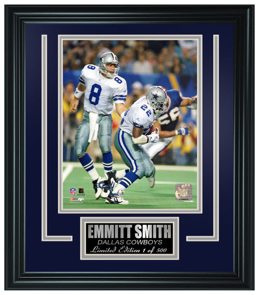 Dallas Cowboys-Emmitt Smith Limited Edition Frame FTSEY033