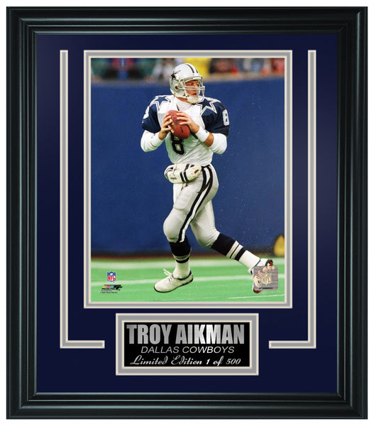 Dallas Cowboys-Troy Aikman Limited Edition Frame FTSGV041