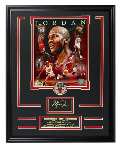 Bulls-Michael Jordan Portrait Plus - National Memorabilia