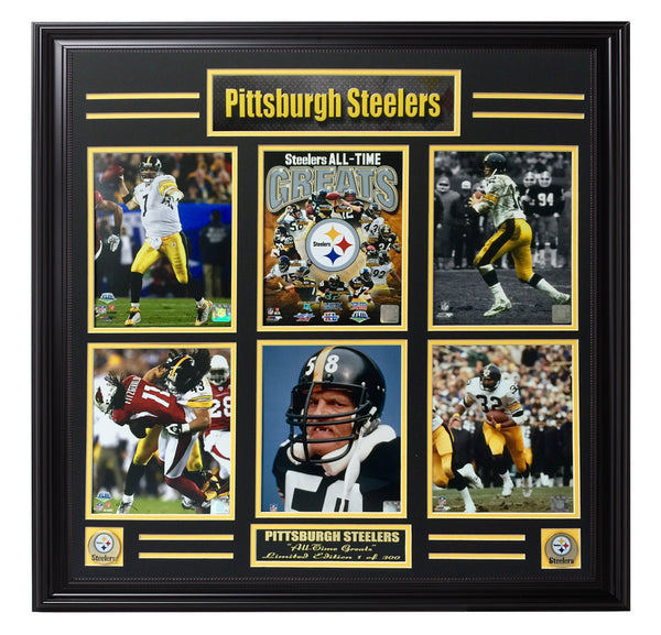 Steelers-All-Time Greats 6-Photo Limited Edition