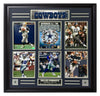 Cowboys-All-Time Greats 6-Photo Frame - National Memorabilia