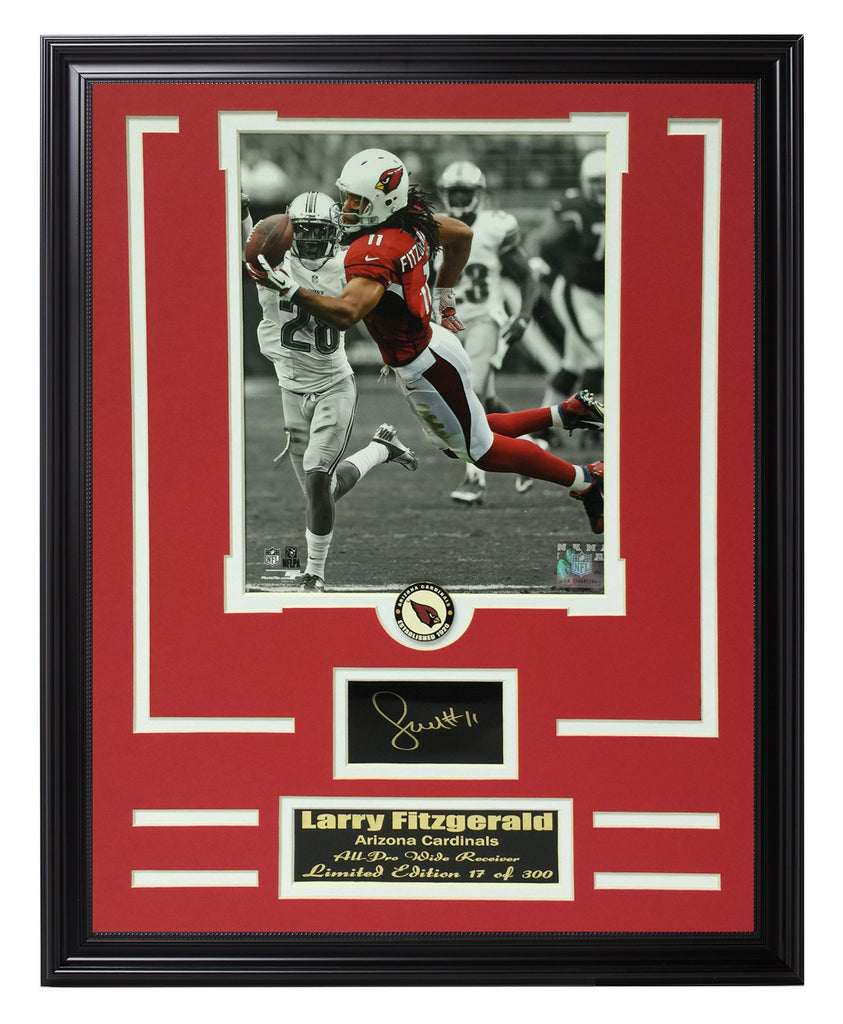 Cardinals-Larry Fitzgerald Engraved Signature Limited Edition ...