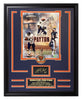Bears-Walter Payton Engraved Signature Collage - National Memorabilia