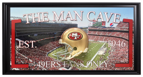 San Francisco 49ers-Man Cave