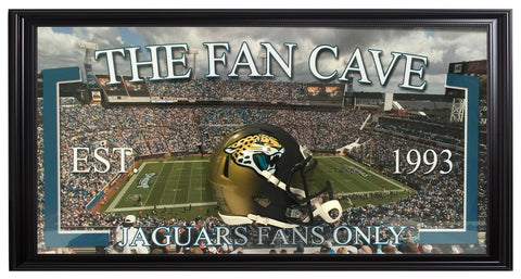 Jaguars-Fan Cave Frame - National Memorabilia