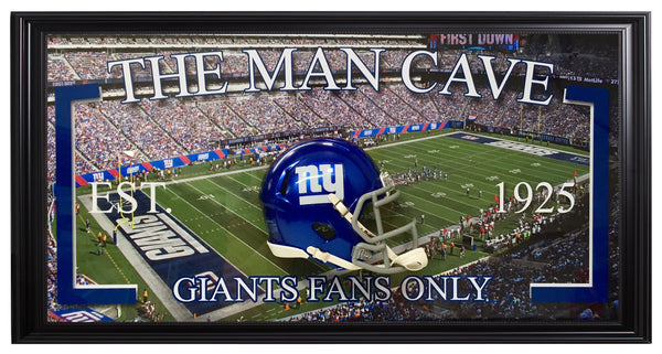 Giants-Man Cave Frame
