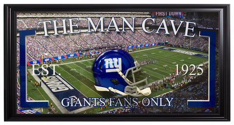 Giants-Man Cave Frame - National Memorabilia