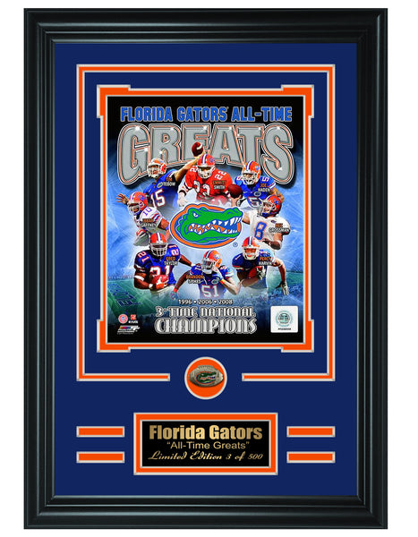 College Florida Gators -All-Time Greats Limited Edition Collage