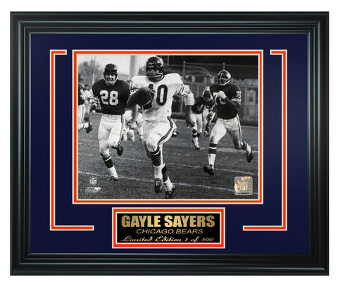 Chicago Bears - Gale Sayers Limited Edition Frame. FTSHG091 - National Memorabilia