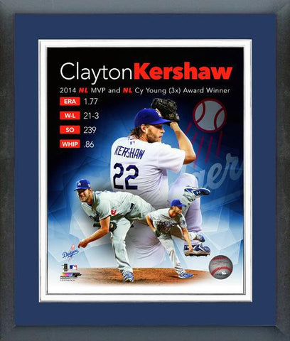Dodgers-Clayton Kershaw 2014 MVP & Cy Young Award - National Memorabilia