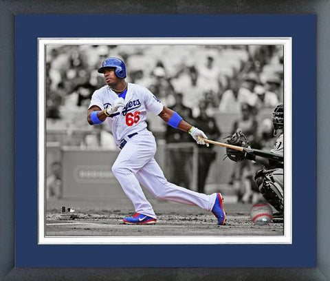 Dodgers-Yasel Puig Spotlight - National Memorabilia